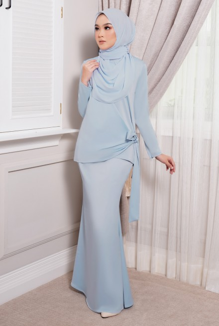 ONDE Kurung in Light Blue